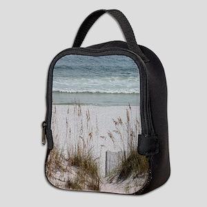 Sandy Beach Neoprene Lunch Bag