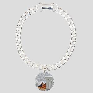 Corgis in Winter Bracelet
