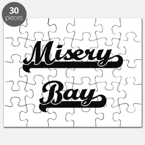 Misery Bay Classic Retro Design Puzzle