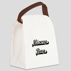 Misery Bay Classic Retro Design Canvas Lunch Bag