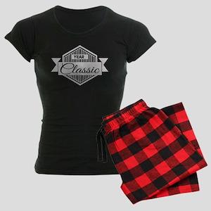 Personalized Birthday Classi Women's Dark Pajamas
