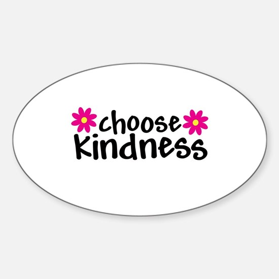 Choose Kindness - Oval Stickers