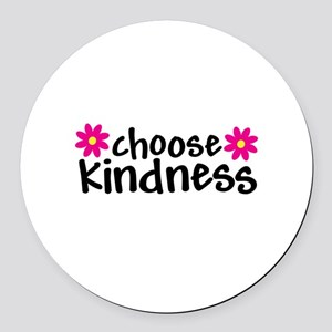 Choose Kindness - Round Car Magnet