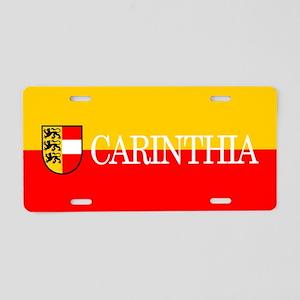 Carinthia Aluminum License Plate