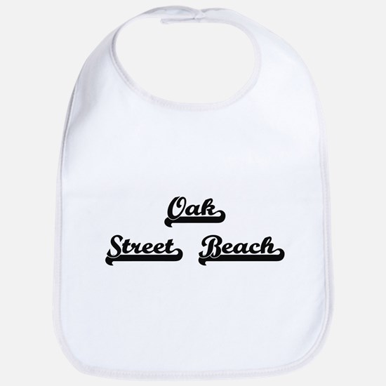 Oak Street Beach Classic Retro Design Bib