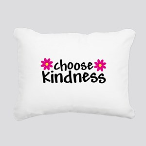 Choose Kindness - Rectangular Canvas Pillow