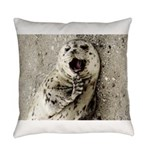Harbor Seal Pup Everyday Pillow