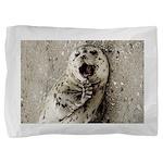 Harbor Seal Pup Pillow Sham