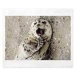 Harbor Seal Pup King Duvet