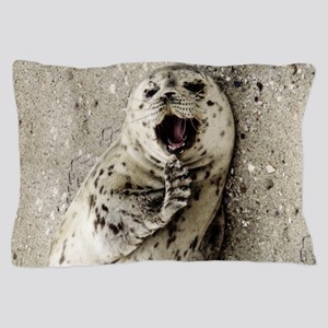Harbor Seal Pup Pillow Case