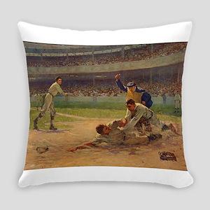 baseball art Everyday Pillow