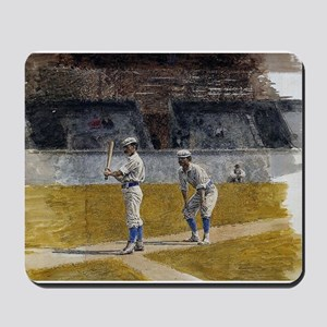baseball art Mousepad