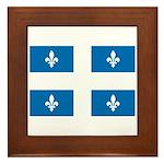 Official Flag and Color Framed Tile