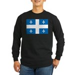 Official Flag and Color Long Sleeve Dark T-Shirt