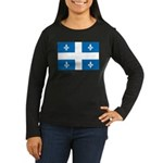 Official Flag and Color Women's Long Sleeve Dark T