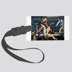 boxing art Luggage Tag