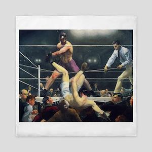 boxing art Queen Duvet