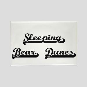Sleeping Bear Dunes Classic Retro Design Magnets