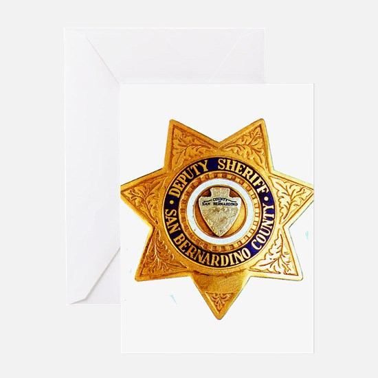 San Bernardino County Sheriff Greeting Card