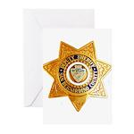 San Bernardino County Sh Greeting Cards (Pk of 10)