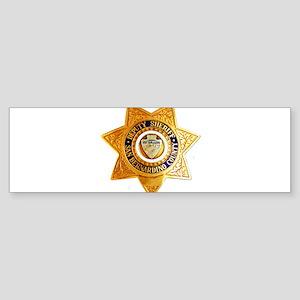 San Bernardino County Sheriff Sticker (Bumper)