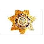 San Bernardino County Sheriff Sticker (Rectangle)