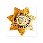 San Bernardino County Sheri Square Sticker 3