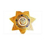 San Bernardino County Sheriff 35x21 Wall Decal