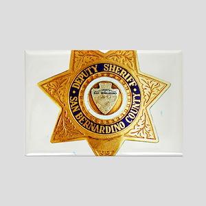 San Bernardino County Sheriff Rectangle Magnet