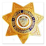 San Bernardino County Sh Square Car Magnet 3