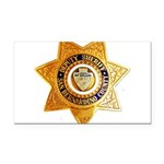 San Bernardino County Sheriff Rectangle Car Magnet