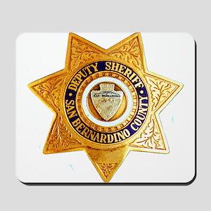 San Bernardino County Sheriff Mousepad