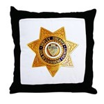 San Bernardino County Sheriff Throw Pillow