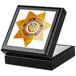 San Bernardino County Sheriff Keepsake Box