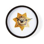 San Bernardino County Sheriff Wall Clock