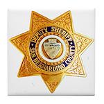 San Bernardino County Sheriff Tile Coaster