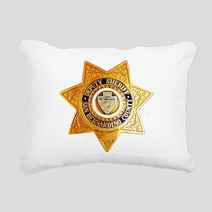 San Bernardino County Sh Rectangular Canvas Pillow