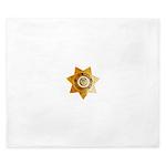 San Bernardino County Sheriff King Duvet