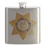 San Bernardino County Sheriff Flask