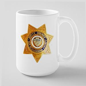 San Bernardino County Sheriff Large Mug
