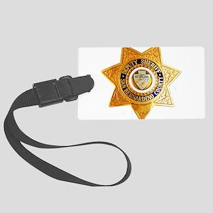 San Bernardino County Sheriff Large Luggage Tag