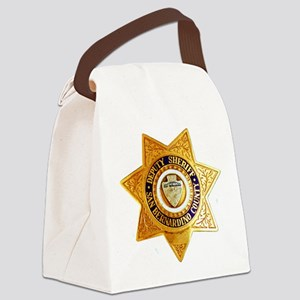 San Bernardino County Sheriff Canvas Lunch Bag