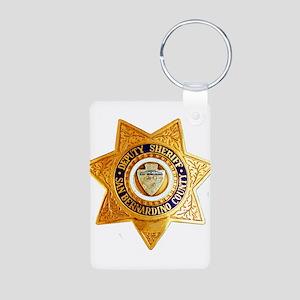 San Bernardino County Sher Aluminum Photo Keychain