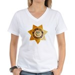 San Bernardino County Sheri Women's V-Neck T-Shirt
