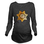 San Bernardino Count Long Sleeve Maternity T-Shirt