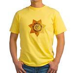 San Bernardino County Sheriff Yellow T-Shirt