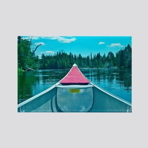 Canoe on River Magnets