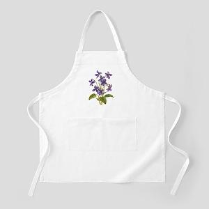 Purple Violets Apron