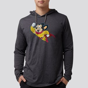 Vintage Mighty Mouse Long Sleeve T-Shirt