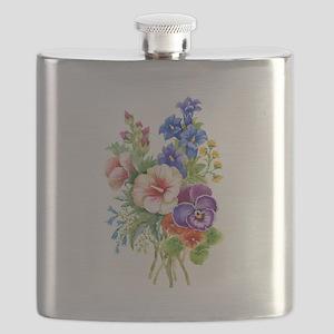 Summer Bouquet Flask